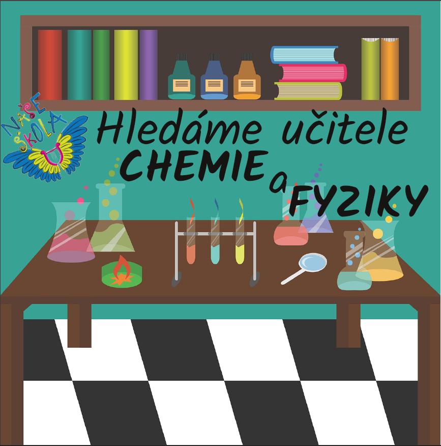 Hledáme učitele chemie
